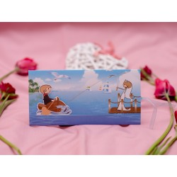Invitatie de nunta haioasa cu miri la pescuit 583