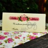 Plic de Bani Nunta Coroana de Trandafiri