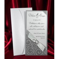 Invitatie de nunta eleganta 2534