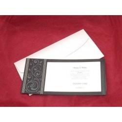 Invitatie de nunta eleganta 3613