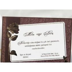 Invitatie de nunta eleganta 30021