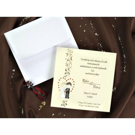 Invitatie de nunta eleganta 30022