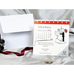 Invitatie de nunta calendar 30054
