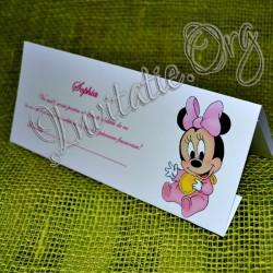 Plic de bani botez haios bebe Minnie Mouse
