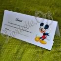 Plic de bani botez cu Mickey Mouse