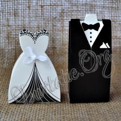 Marturie nunta cutiute mire si mireasa mici