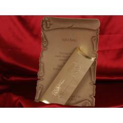 Invitatie de nunta papirus 1145