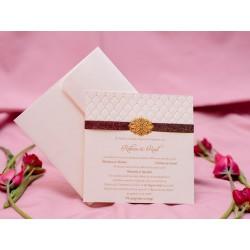 Invitatie de nunta eleganta 1772