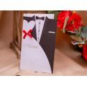Meniu de nunta elegant cu miri 3906
