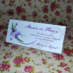Plic de bani cu Floare de Iris