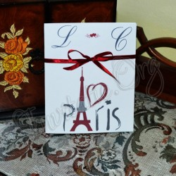 Invitatie Handmade Paris - Turnul Eiffel