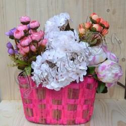 Cosuri decor Roz si Galben