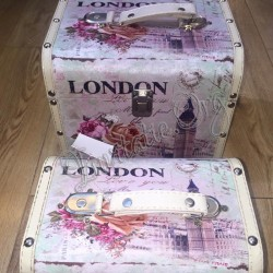 Set 2 Cufere chic Love London