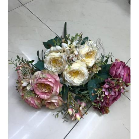 Buchet Flori Artificiale Colorate