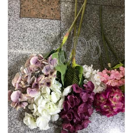 Flori Artificiale Colorate Pentru Aranjamente Florale