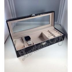 Caseta ceasuri si bijuterii - Cadou