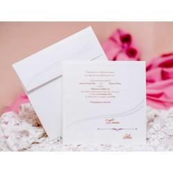 Invitatie de nunta eleganta 50475