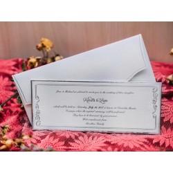 Invitatie de nunta eleganta 50502
