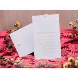 Invitatie de nunta eleganta 50515