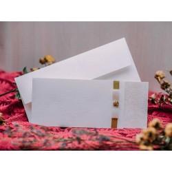 Invitatie de nunta vintage cu fundita 50519