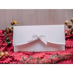 Invitatie nunta elaganta cu fundita 50535