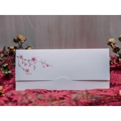 Invitatie de nunta cu flori de cires 50521