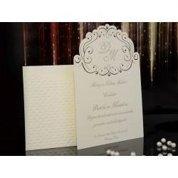 Invitatie de nunta eleganta 15003 A