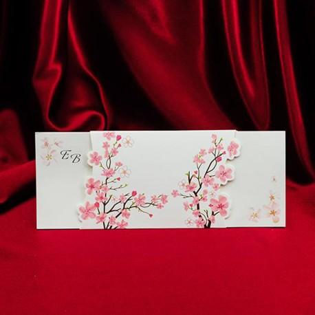 Invitatii Pentru Nunta Mea Cu Flori De Cires 138