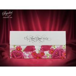 Invitatie de Nunta cu model Floral Vintage 2725