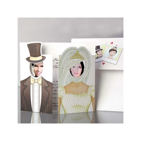 Invitatii Nunta Elegante Cu Poza Haioasa Miri 32407