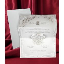 Invitatie de nunta vintage 2574