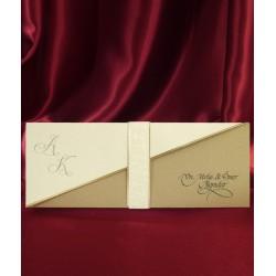 Invitatie de nunta eleganta 2582