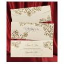 Invitatie de nunta vintage 2622