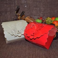 Cutiuta pentru prajituri cu fluturas
