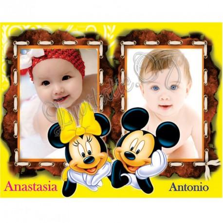 Marturie Magnetica Gemeni Minnie Si Mickey