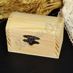 Cufar lemn natur