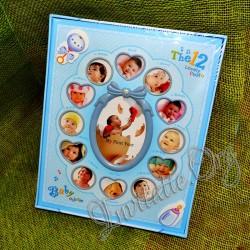 Album foto bebe (poze pana la 1 an) roz