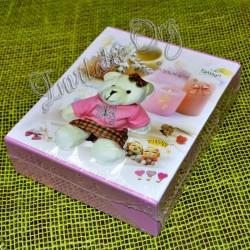 Album foto roz cu ursuleti