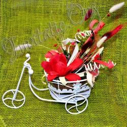 Bicicleta suport pentru decoratiuni florale