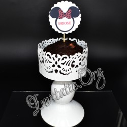 Etichete Candy Bar Botez Minnie Mouse