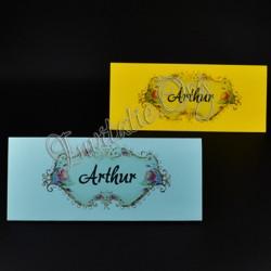 Plic de Bani colorat cu Model Floral Elegant