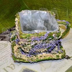 Cosulet din floricele verde