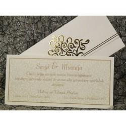 Invitatie de nunta eleganta 486