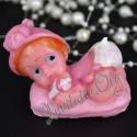 Marturie Botez Haioasa Bebelus roz Lumanare