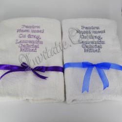 Prosop Brodat pentru Nasi - Cadou Personalizat