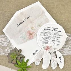Invitatie de nunta Deosebita Dreamcatcher 39633