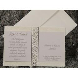 Invitatie de nunta eleganta 527