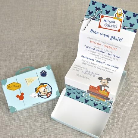Invitatii Pentru Botez Haioase Geamantanul Lui Mickey Mouse 15700