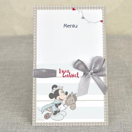 Meniu Botez cu Printul Mickey Mouse 3702