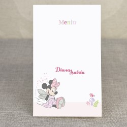 Meniu Botez Disney Minnie Mouse Zana 3708
